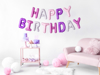 Picture of Foil Balloons Kit HAPPY BIRTHDAY mix