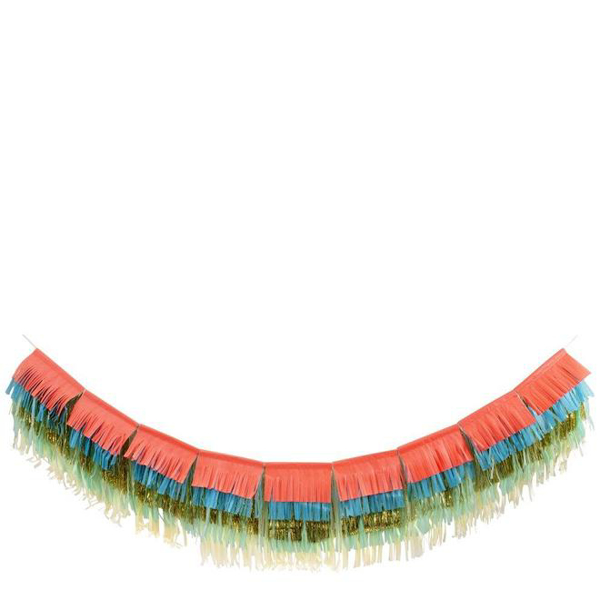 Picture of Colourful Fringe Garland (Large)