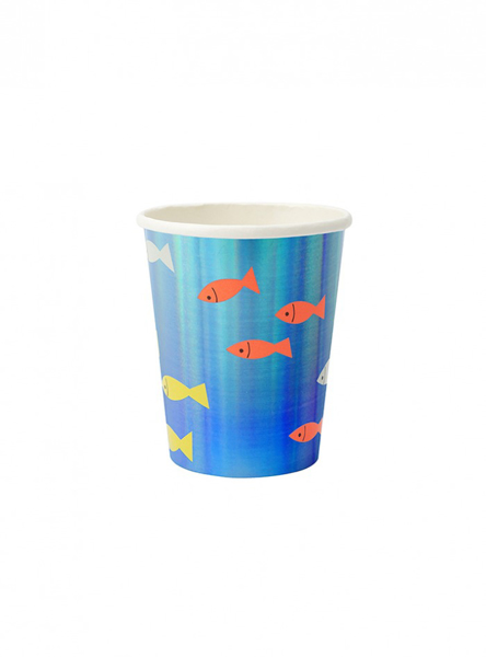 Picture of Paper cups - Under the sea