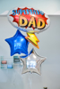 Picture of Set Foil Balloons Dad (only pick them up from our store in Thessaloniki)