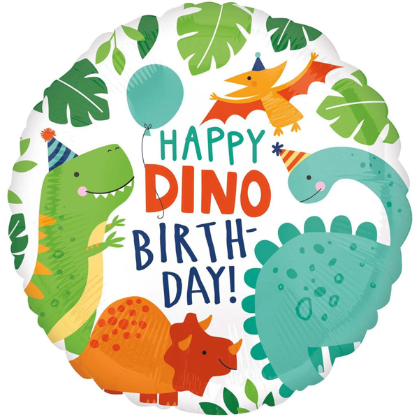 Picture of Foil balloon Dinosaurs