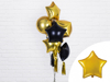 Picture of Foil balloon star - Gold (48cm)