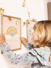 Μπλοκ ζωγραφικής - Ουράνιο τόξο
