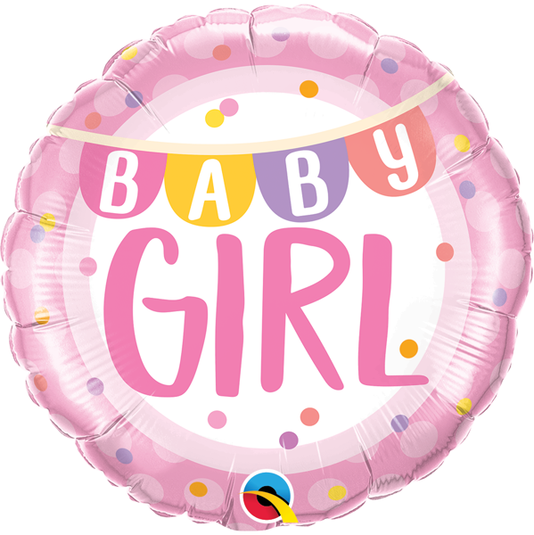 Picture of Foil balloon Βaby Girl