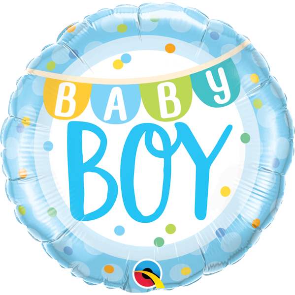 Picture of Foil balloon Baby Boy
