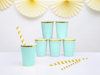 Picture of Paper cups - Mint