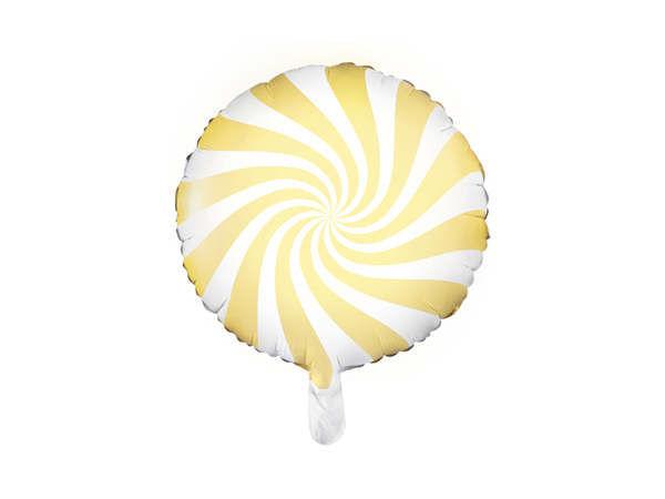 Picture of Foil Balloon Candy yellow