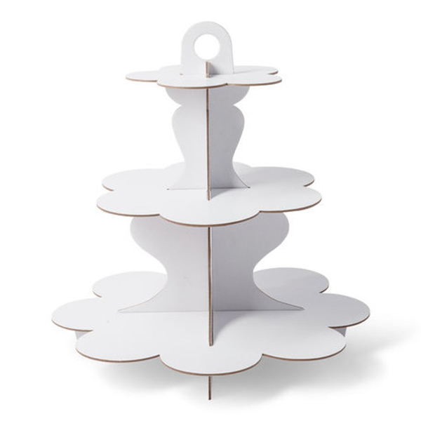 Picture of Cupcake stand - White