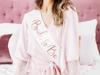 Κορδέλα σατέν - Bride to be ροζ χρυσό