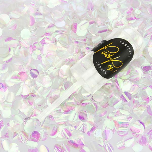 Picture of Confetti push pop - Iridescent