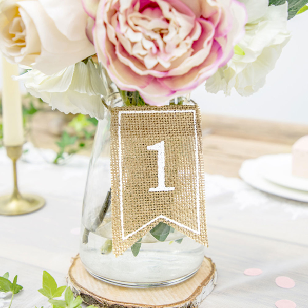 Picture of Jute table numbers (1-20)
