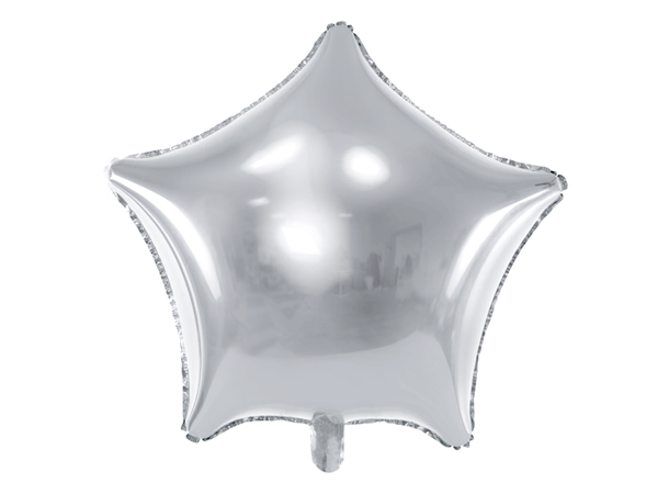 Picture of Foil balloon star - Silver (48cm)