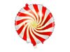Picture of Foil Balloon Candy red - gold