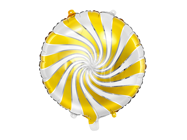 Picture of Foil Balloon Candy gold