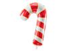Μπαλόνι foil σε σχήμα ζαχαρωτό μπαστούνι - Kόκκινο