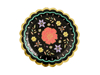 Picture of Side paper plates - Floral Halloween