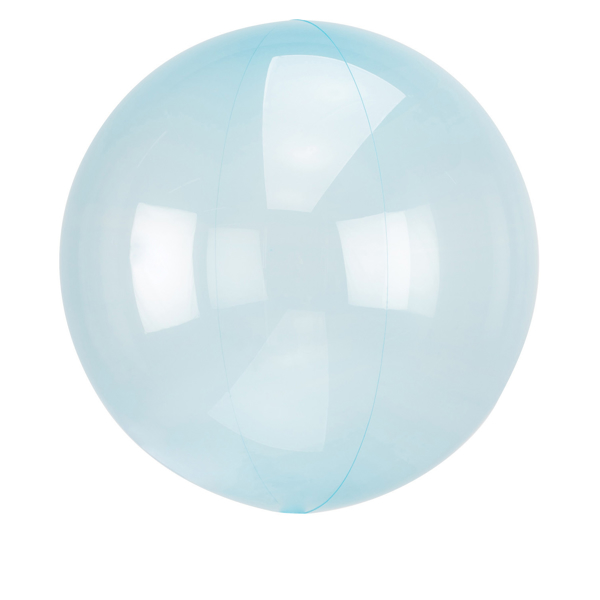 Picture of Orbz balloon - Clear blue