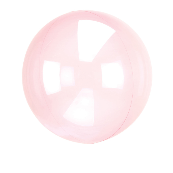 Picture of Orbz balloon - Clear pink