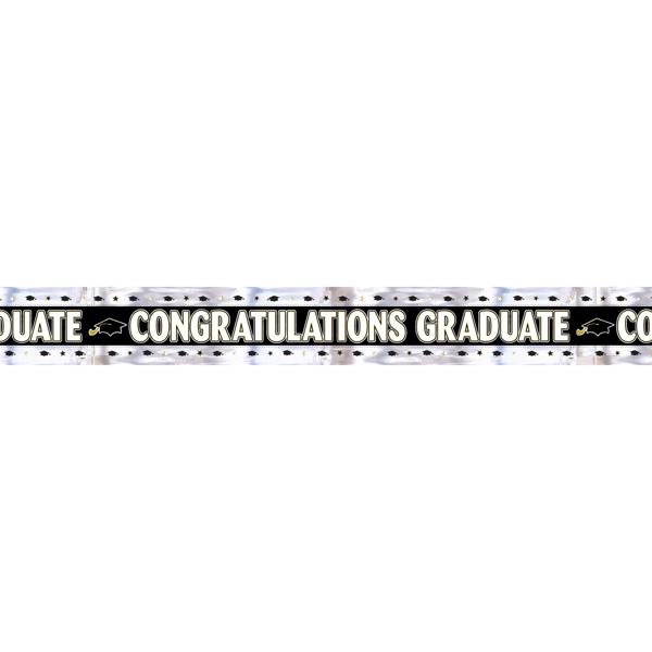 Banner αποφοίτησης - Congratulations graduate