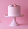 Picture of Cake stand small - Pink