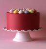 Picture of Cake stand - Pink (Wave)