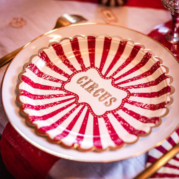 Picture of Paper plates - Circus