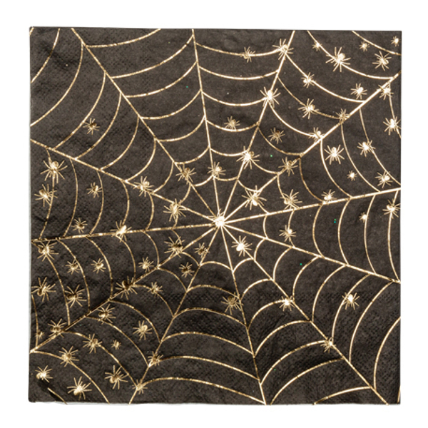 Picture of Paper napkins - Spiders