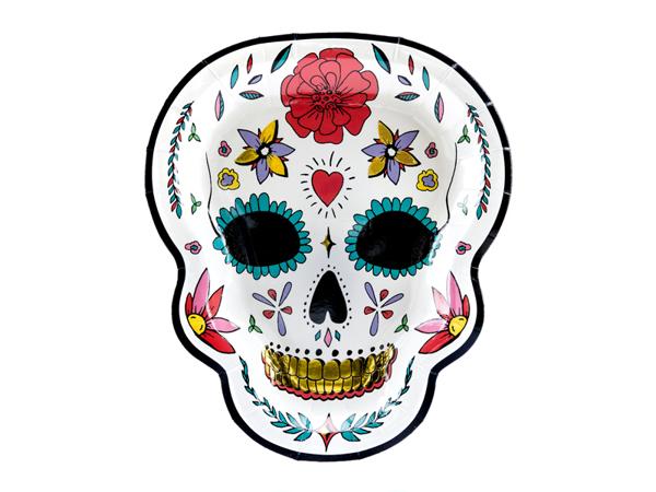 Χάρτινα πιάτα - Skull