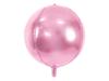 Μπαλόνι foil στρόγγυλη μπάλα ροζ