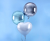 Picture of Foil balloon ball light blue