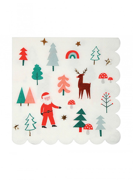 Picture of Paper napkins -  Christmas party