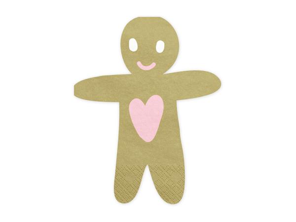 Χαρτοπετσέτες - Gingerbread man