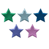 Picture of Dinner paper plates - Metallic Foil Star