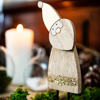 Picture of Wooden -Santa claus