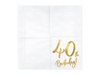 Picture of Paper napkins - 40th Birthday!