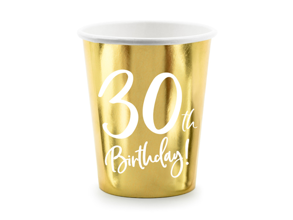 Picture of Paper cups - 30th Birthday!
