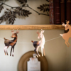 Picture of Garland - Reindeer in rose gold