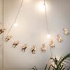 Γιρλάντα - Ταρανδάκια σε ροζ χρυσό