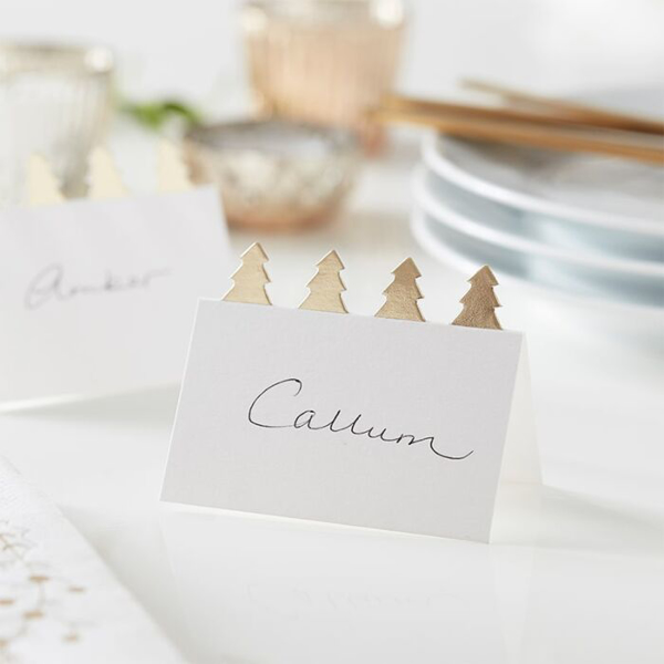 Picture of Place cards - Christmas trees