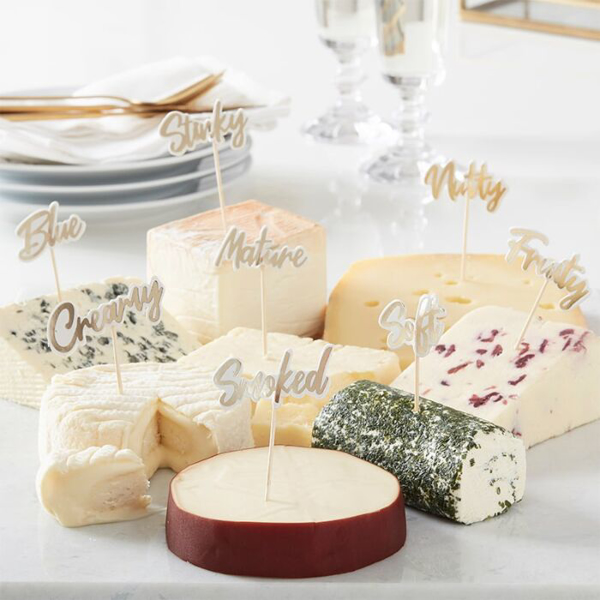 Picture of Cheese board party food picks