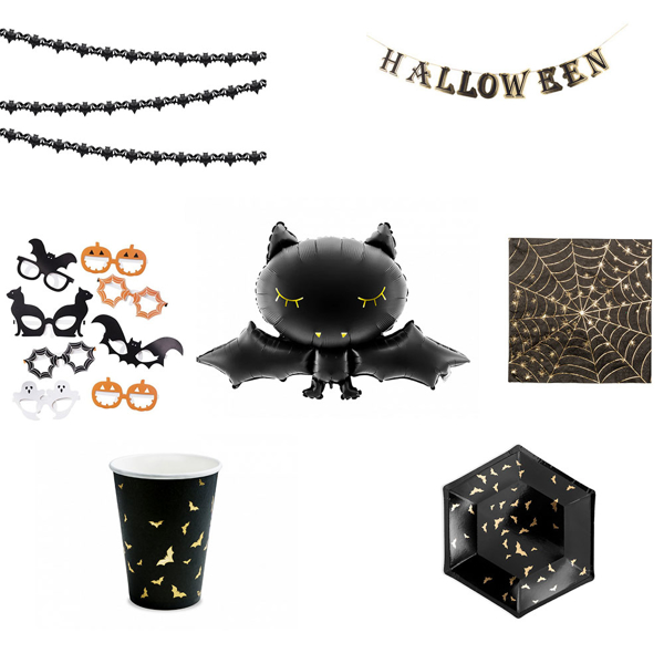 Picture of Halloween decoration set