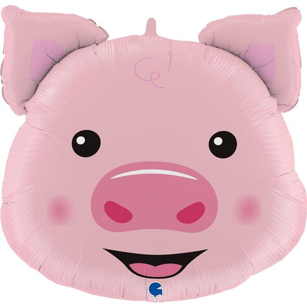 Picture of Foil balloon Pig