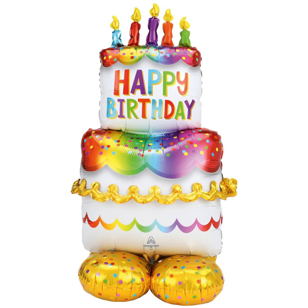 Picture of Large Foil Balloon Cake