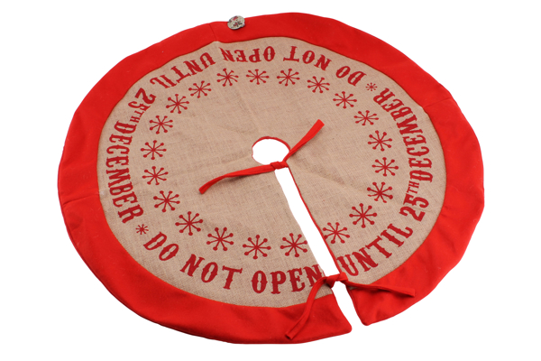 Picture of Tree skirt-Do not open until 25th December