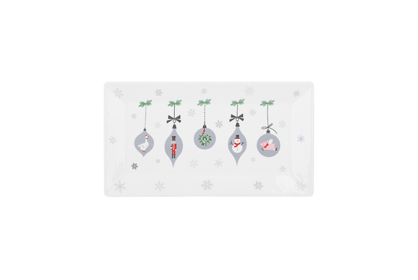 Picture of Ceramic Tray - Ornaments
