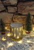 Picture of Scented soy candle in gold glass - Baby powder
