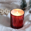 Picture of Scented soy candle in red glass - Cayenne Pepper