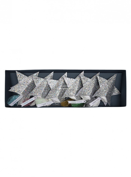 Picture of Christmas crackers-Confetti stars