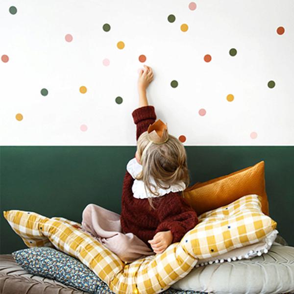 Διακοσμητικά αυτοκόλλητα τοίχου - Στρόγγυλα
