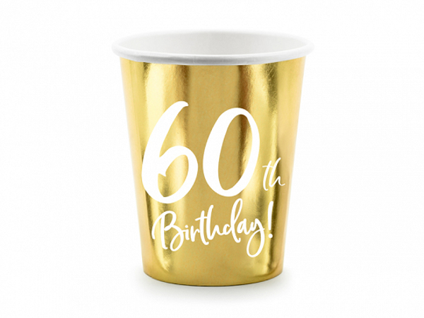 Picture of Paper cups - 60th Birthday!